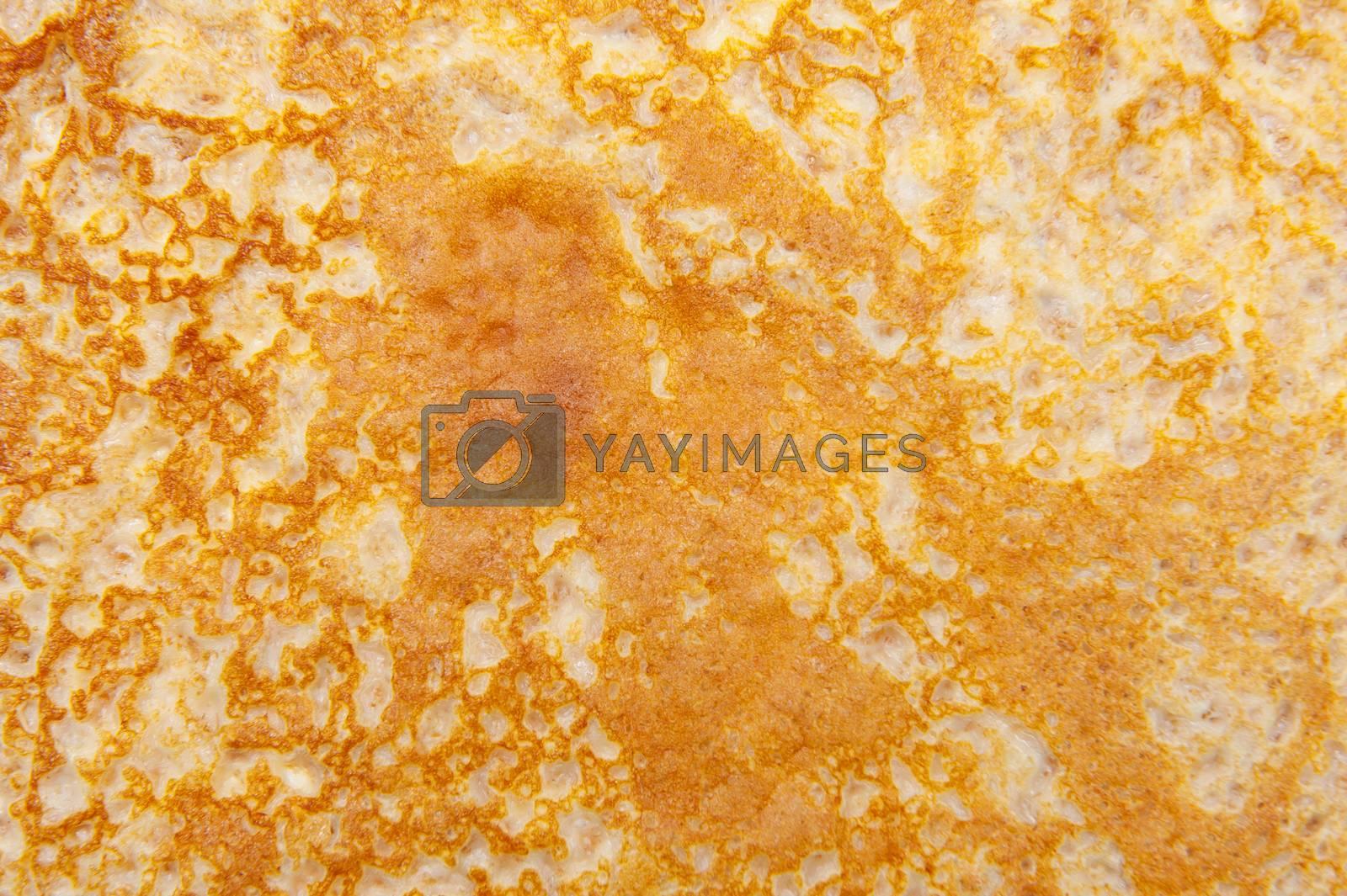 Close up of pancake background