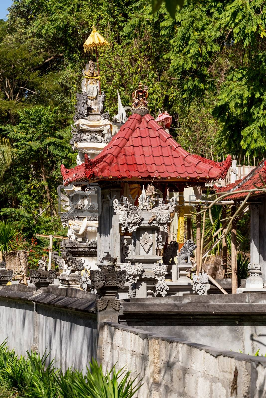 Small Hindu Temple, Bali by artush