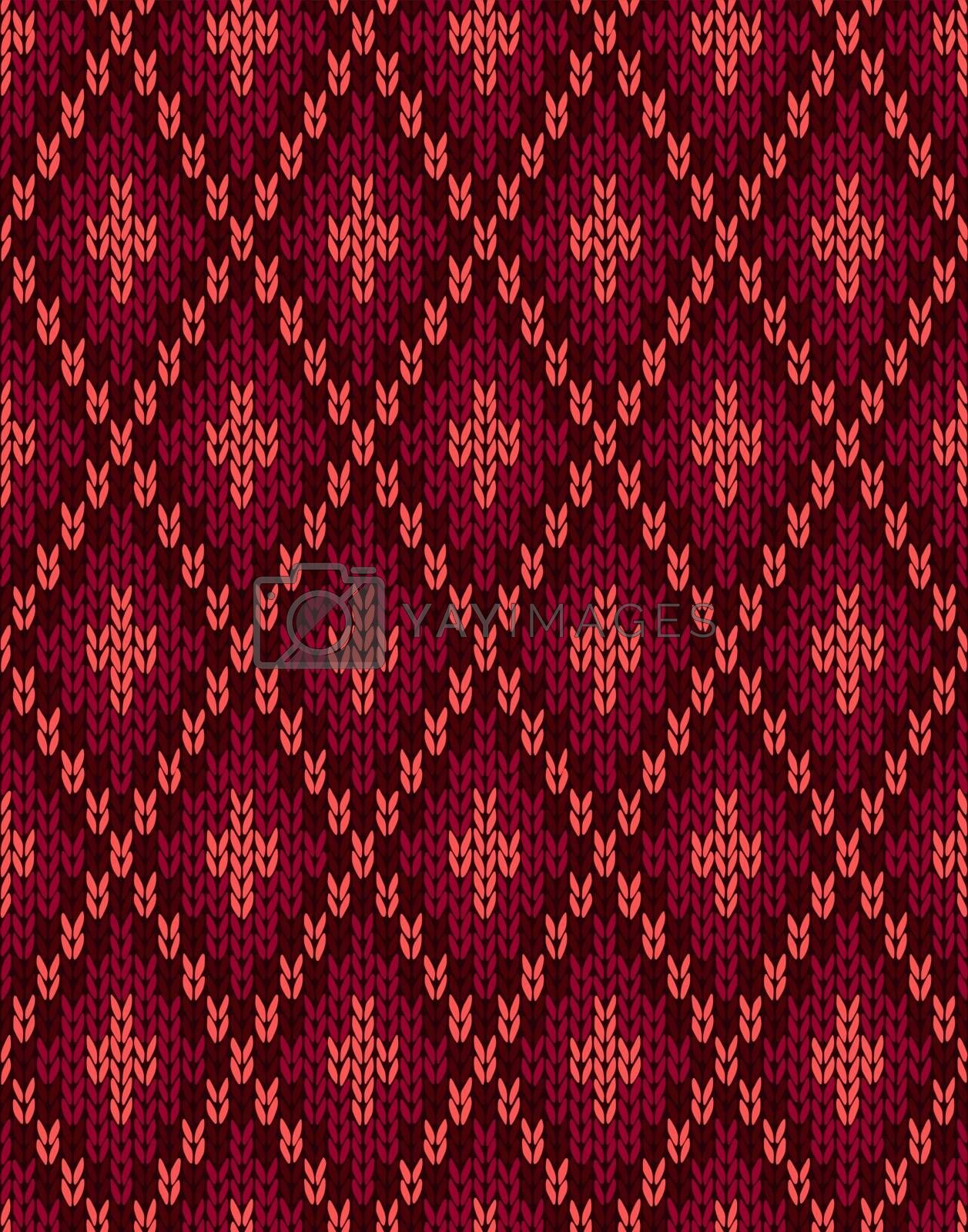 Seamless Knitwear Swedish Textile Pattern