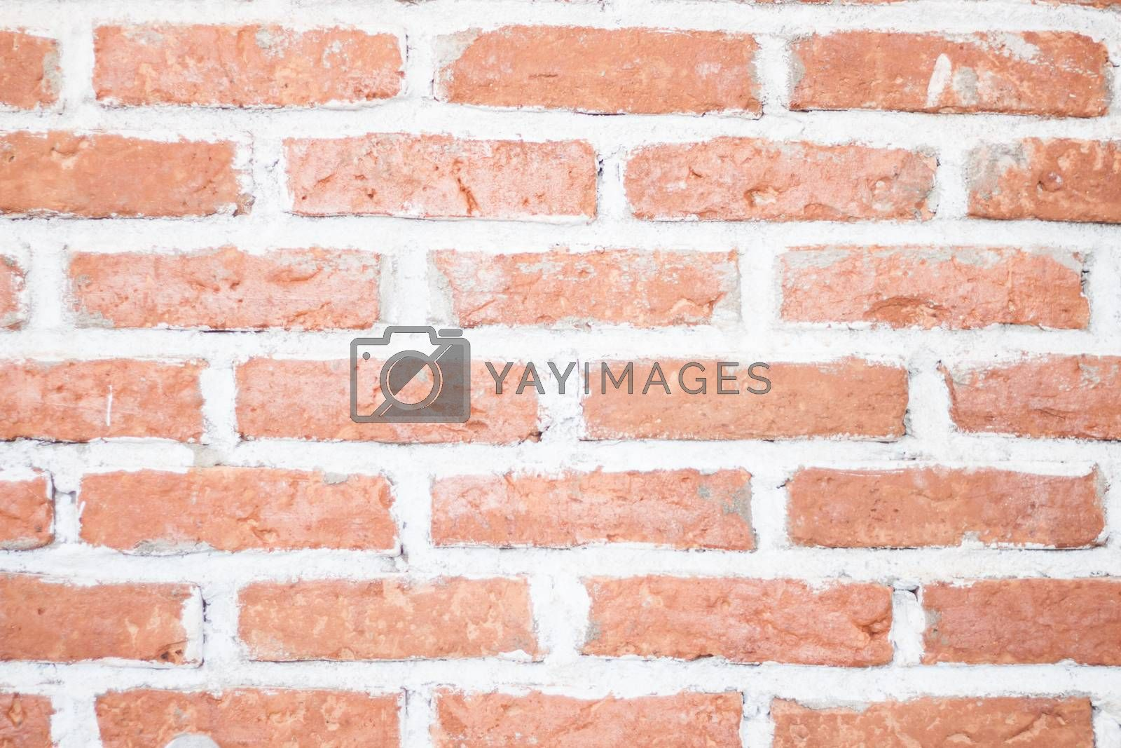 Royalty free image of Background of old vintage brick wall by punsayaporn