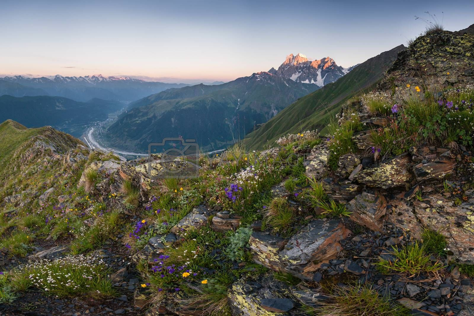 Royalty free image of Mountain landscape by firewings