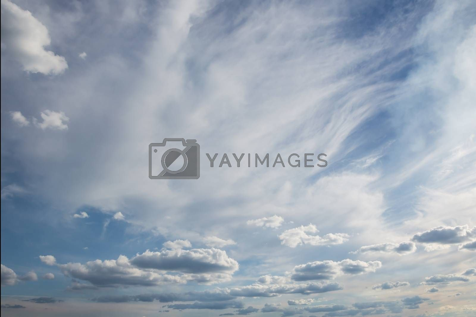 Royalty free image of sky with clouds by firewings