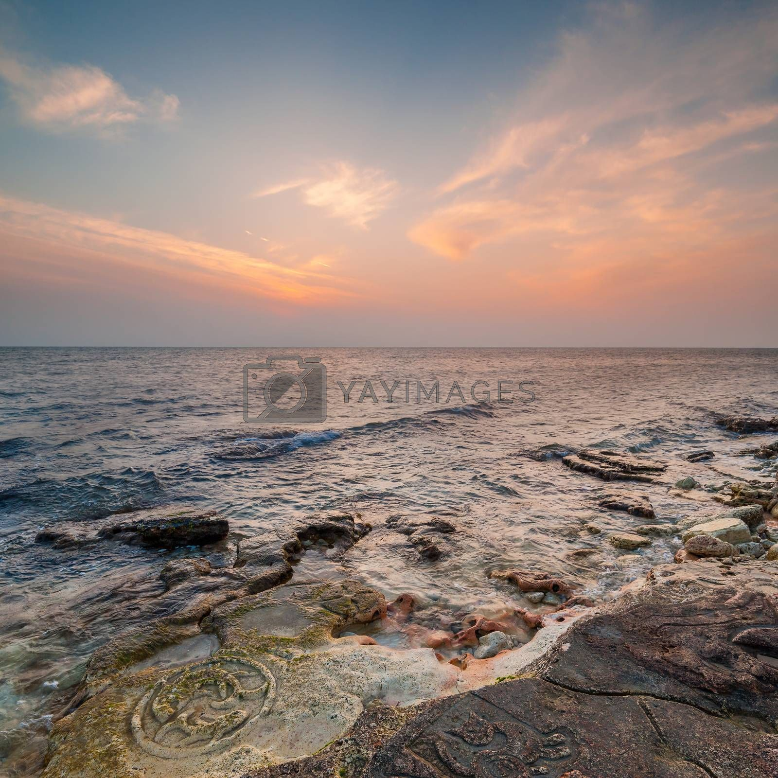 Royalty free image of Seascape by firewings