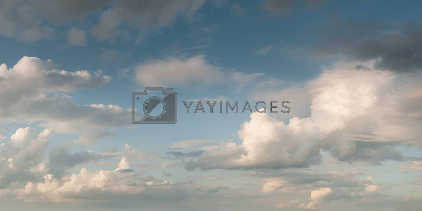 Royalty free image of Beautiful clouds by firewings
