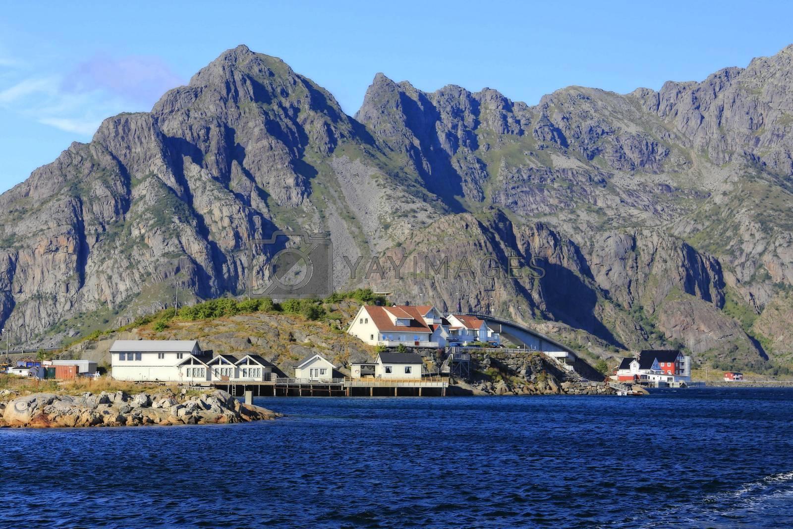 Fra en tur til Henningsvær i flott sommervær