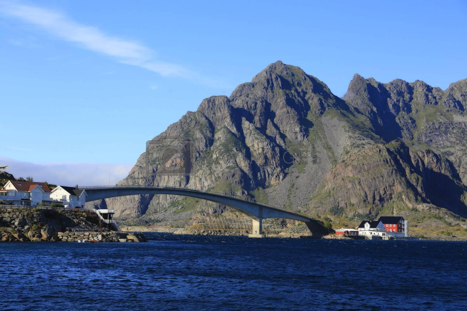 Fra tur til Henningsvær i Lofoten