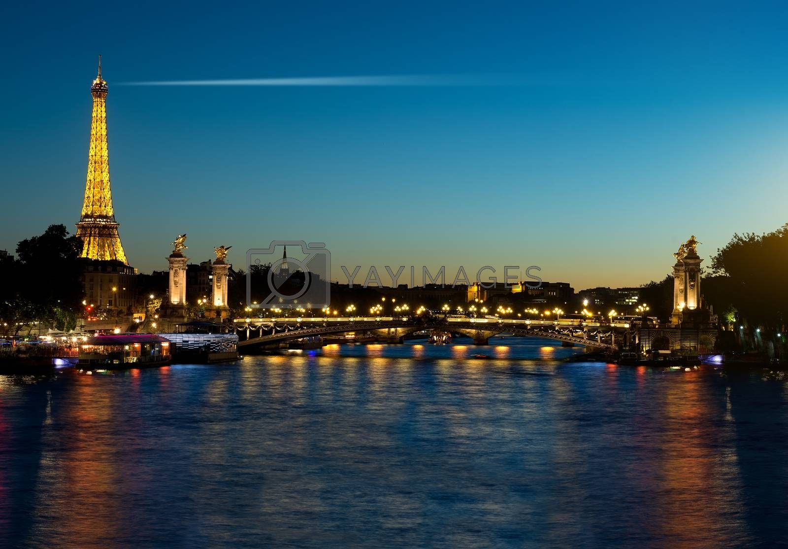 Evening in Paris by Givaga