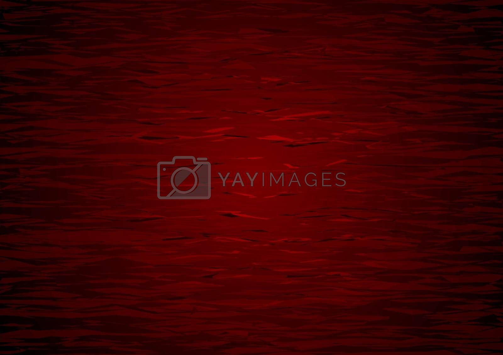 Abstract Red Texture - Wood Structure Background Illustration, Vector