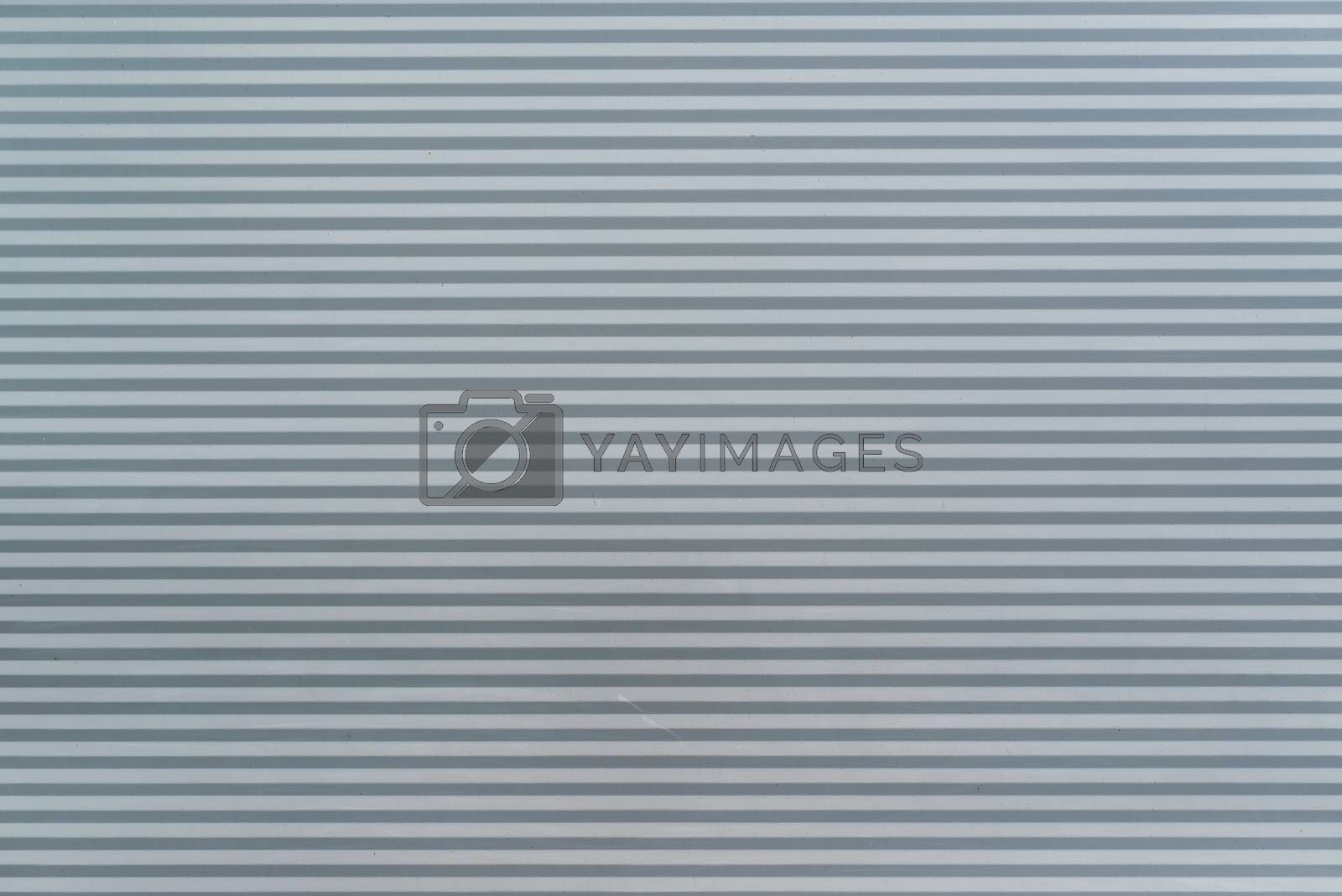 Stripped metal surface texture as copy space or abstract background