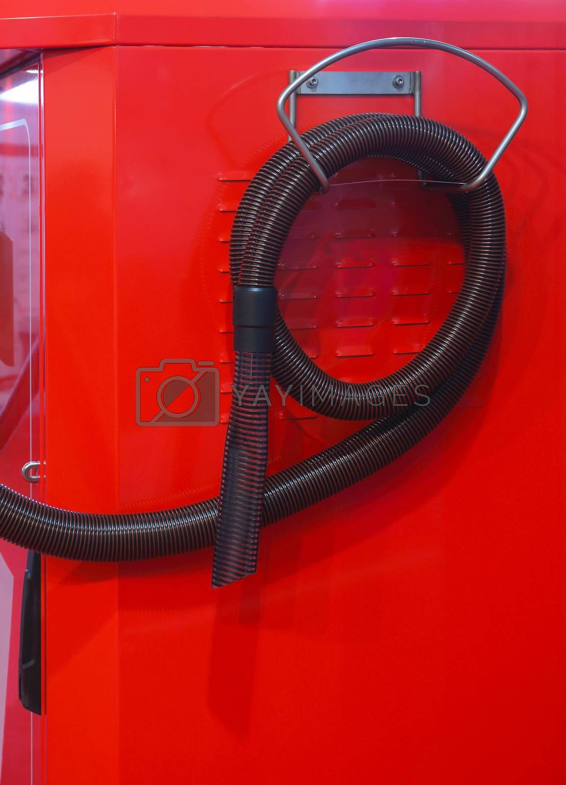 Commercial Vacuum Cleaner Hose at Petrol Station
