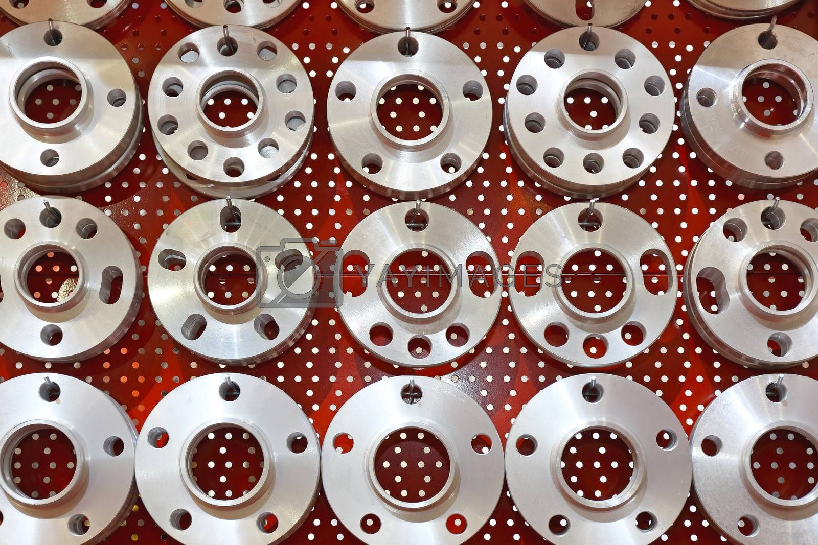 Wheel Hubs in Various Shapes and Sizes