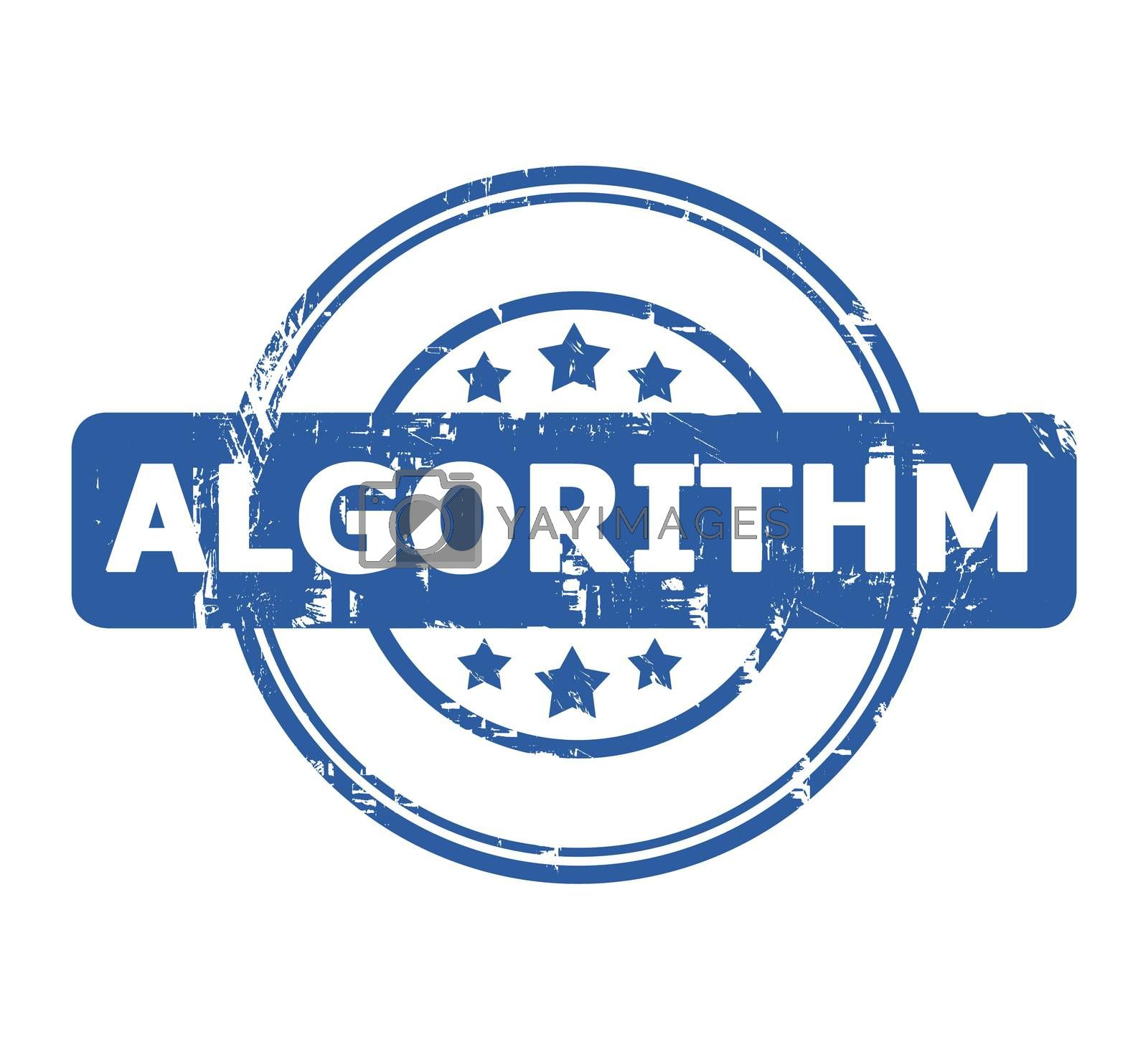 Royalty free image of Algorithm stamp by speedfighter