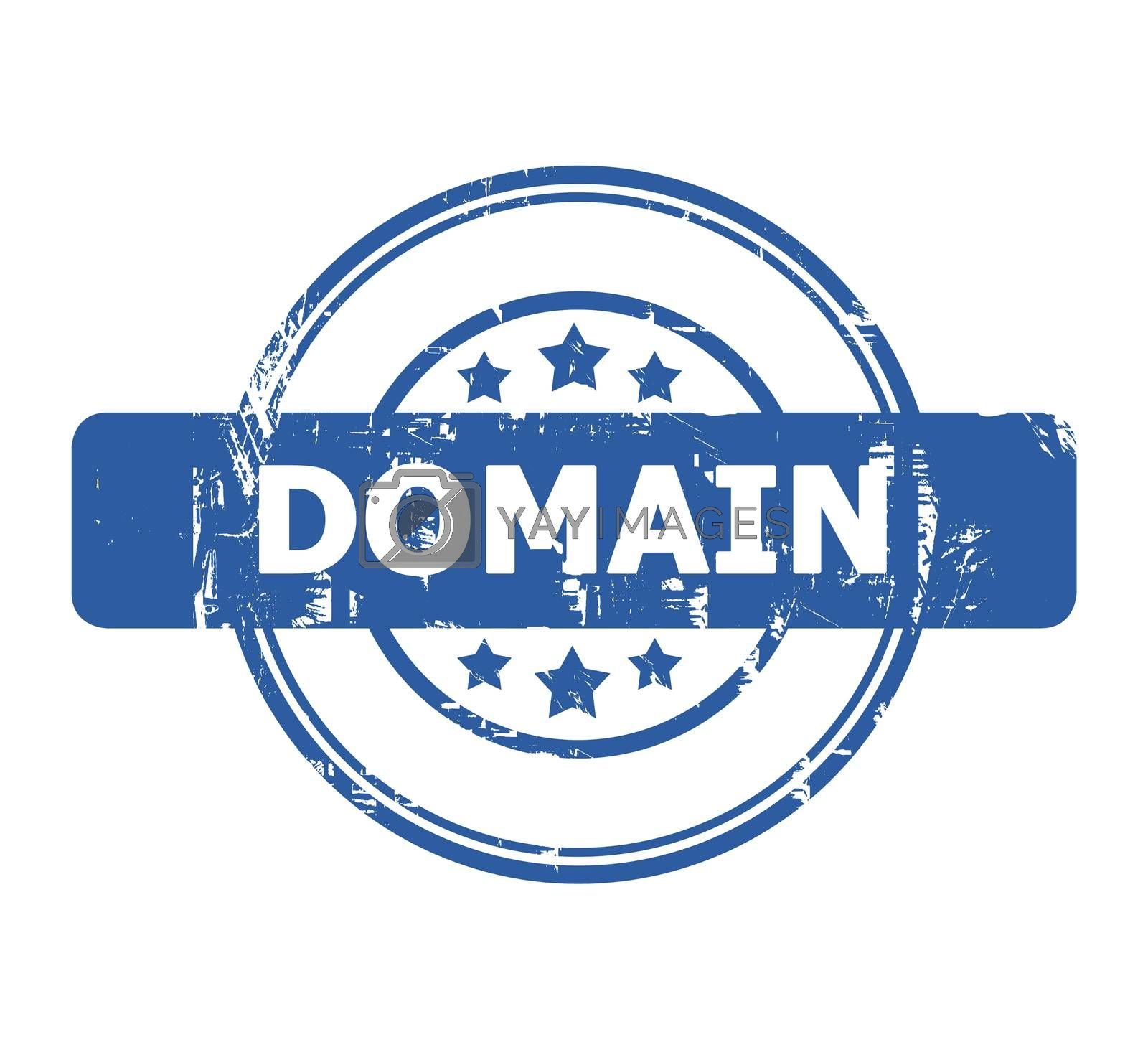 Royalty free image of Domain stamp by speedfighter