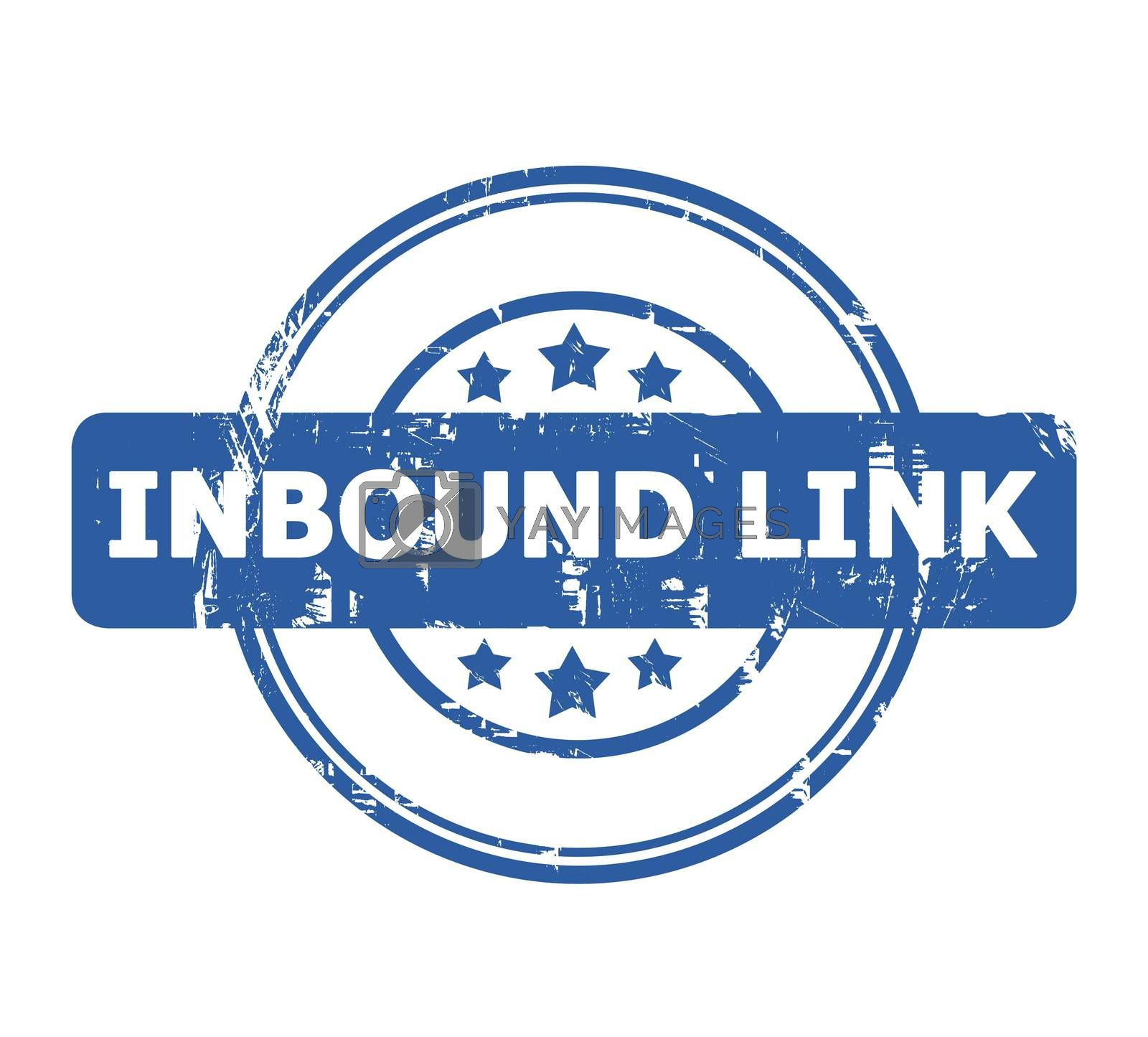 Royalty free image of Inbound Link Stamp by speedfighter