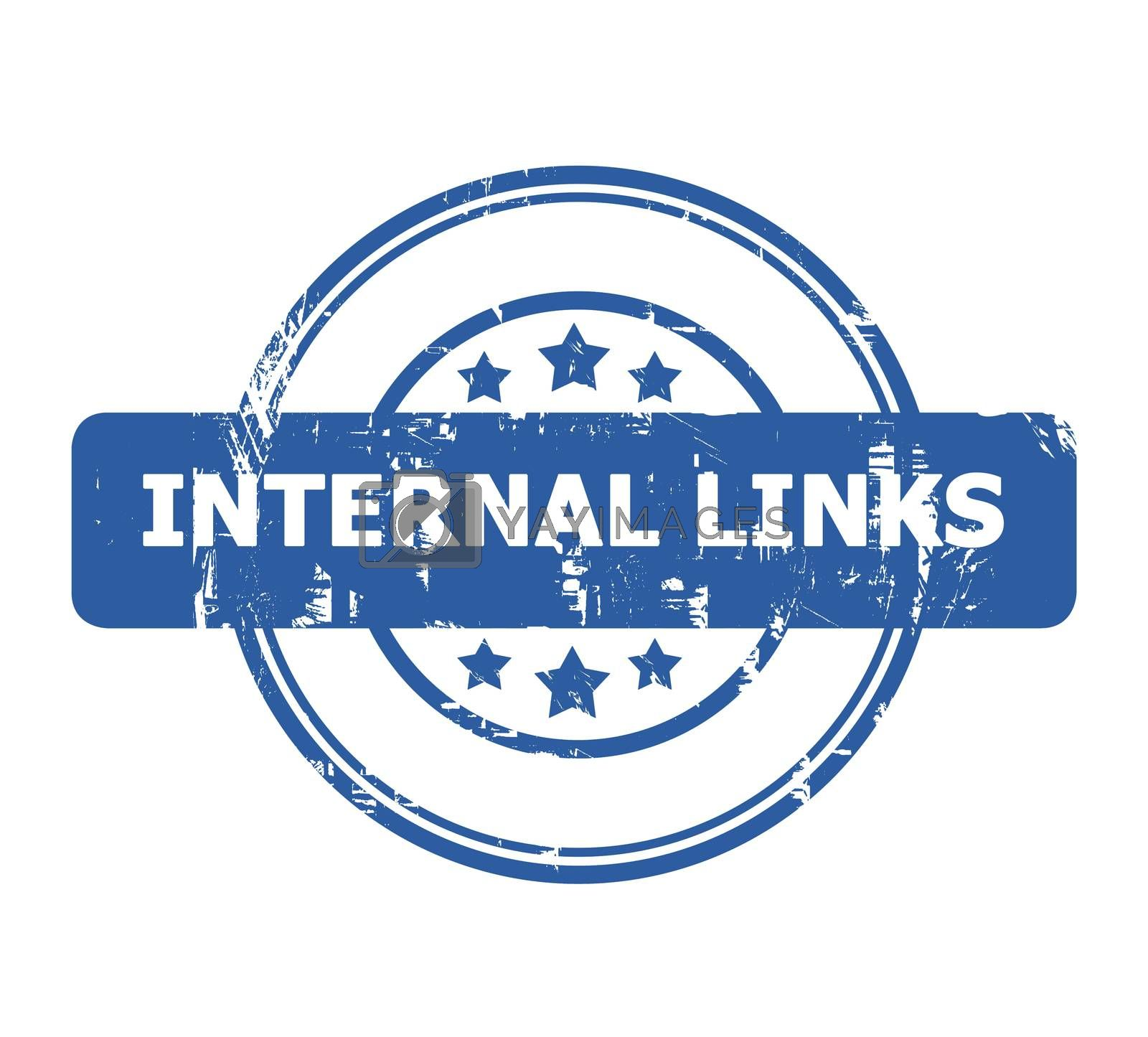 Royalty free image of Internal Links Stamp by speedfighter