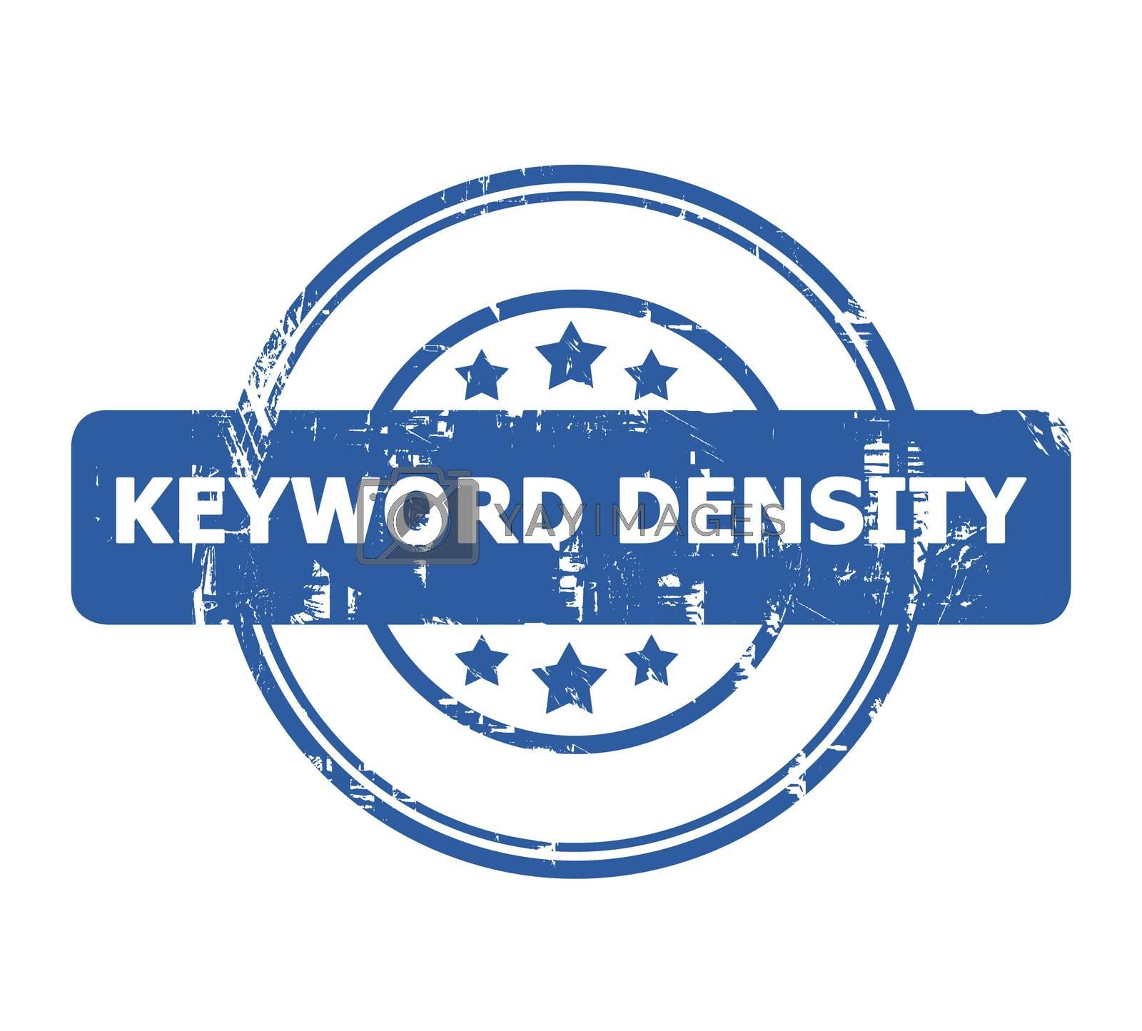 Royalty free image of Keyword Density Stamp by speedfighter