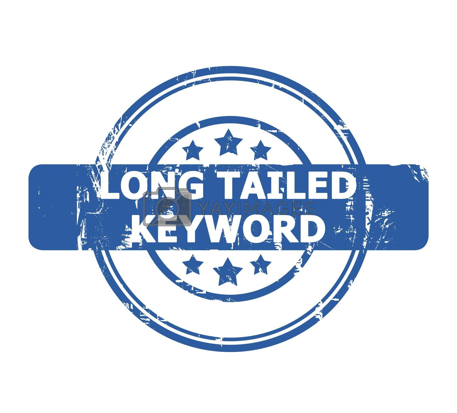 Royalty free image of Long Tailed Keyword Stamp by speedfighter