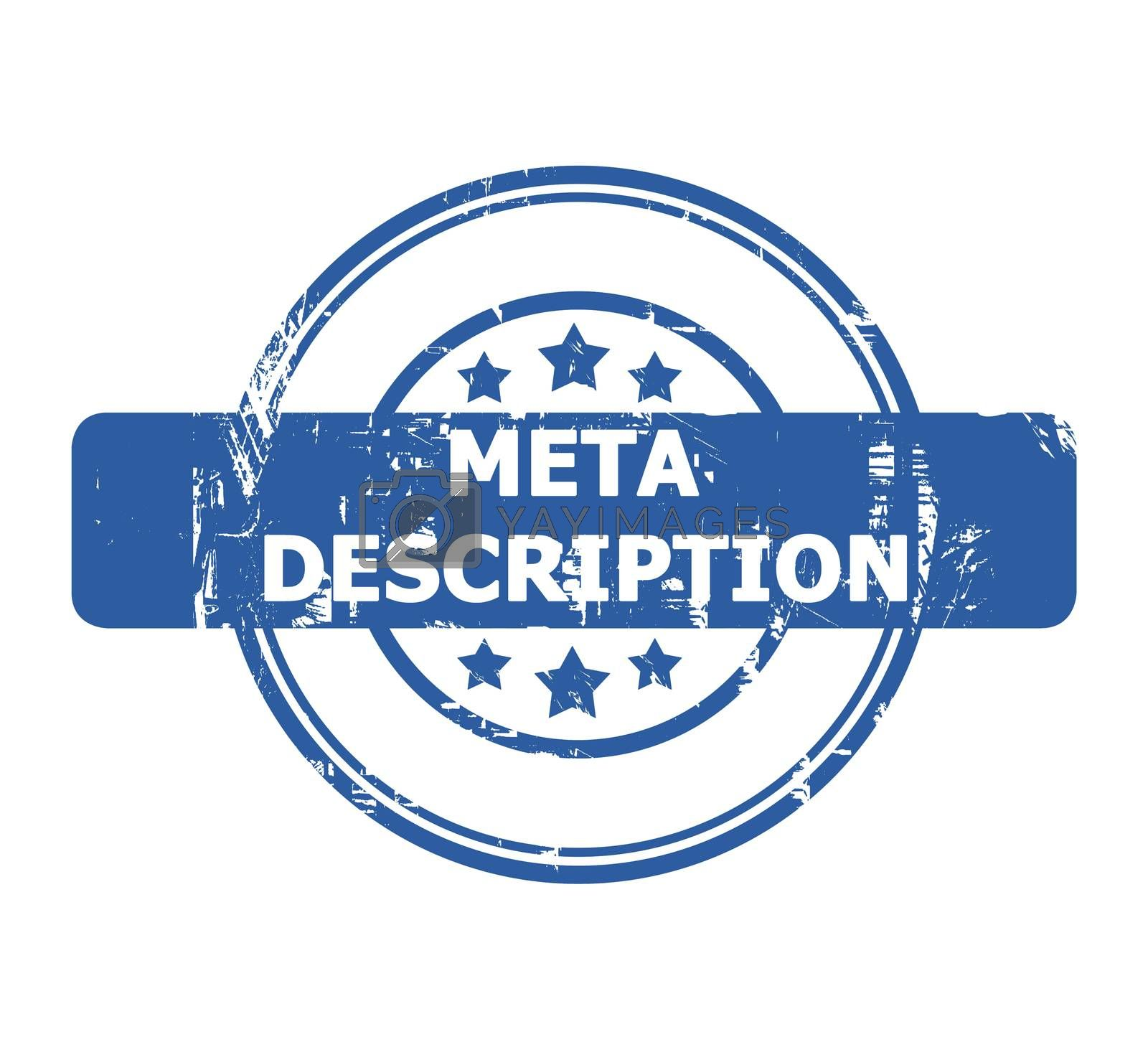 Royalty free image of Meta Description Stamp by speedfighter