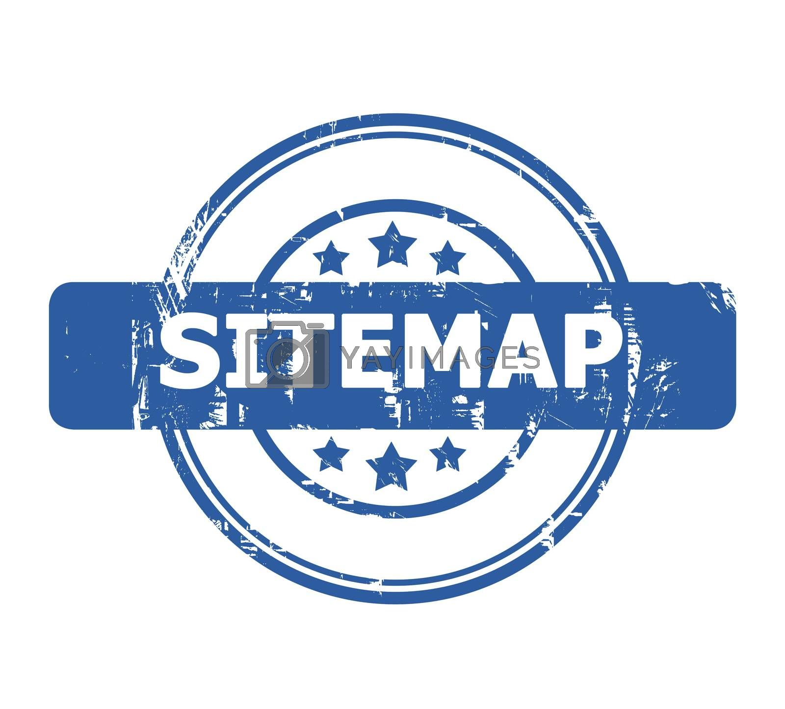 Royalty free image of Sitemap Stamp by speedfighter