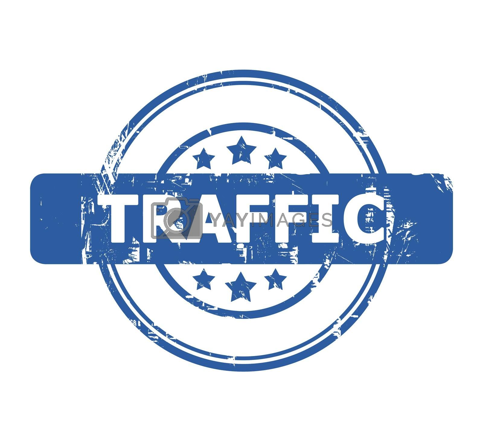 Royalty free image of Traffic Stamp by speedfighter