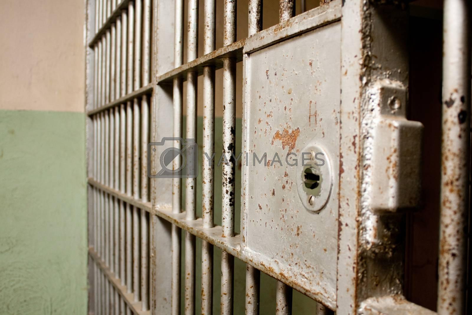 prison door already shut