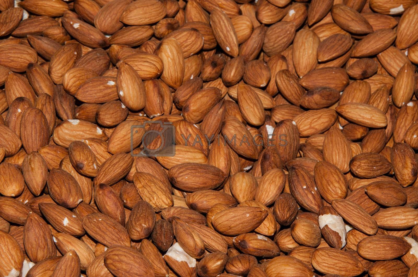 Fruit sweet Almond  by vladimirvasil