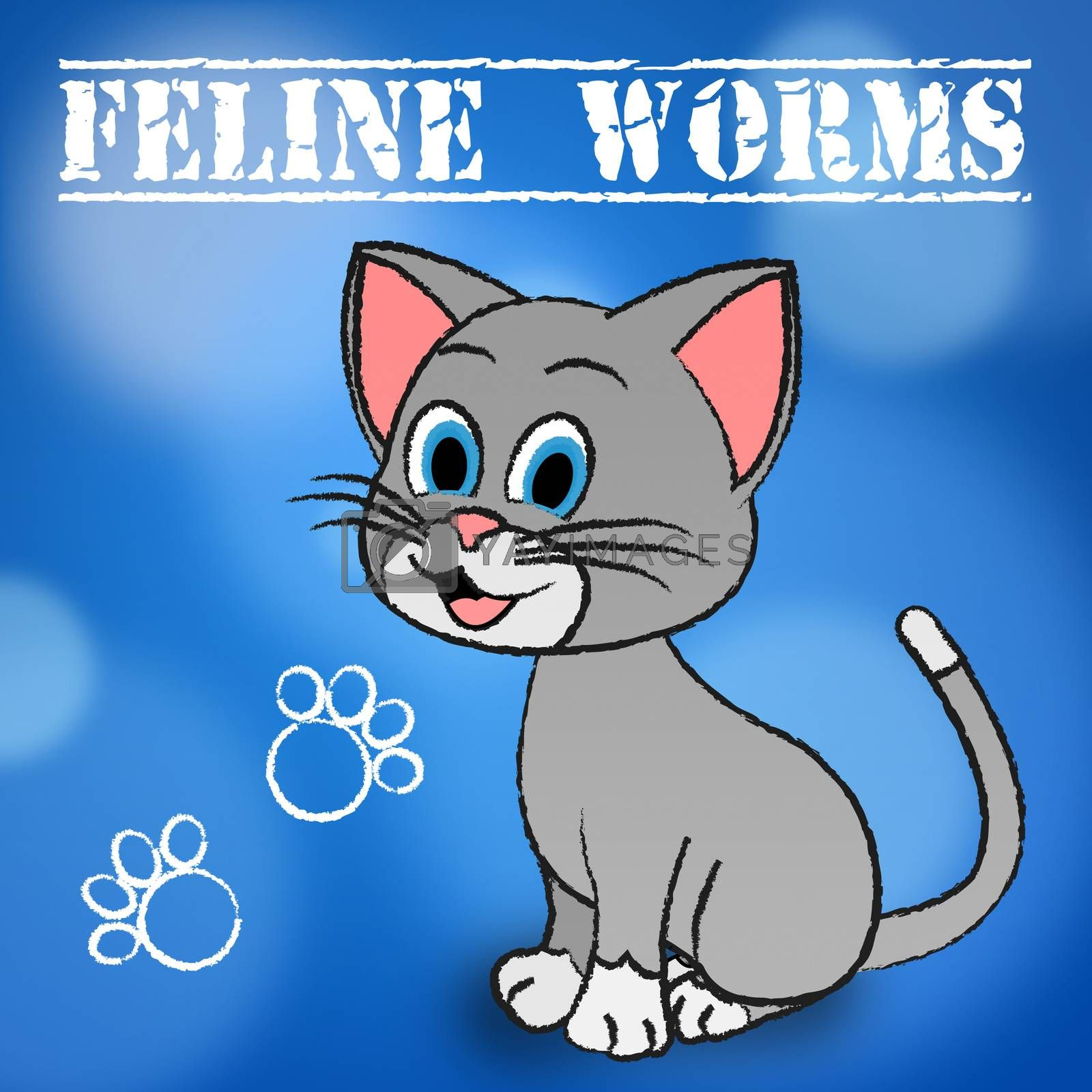 Feline Worms Meaning Domestic Cat And Pet