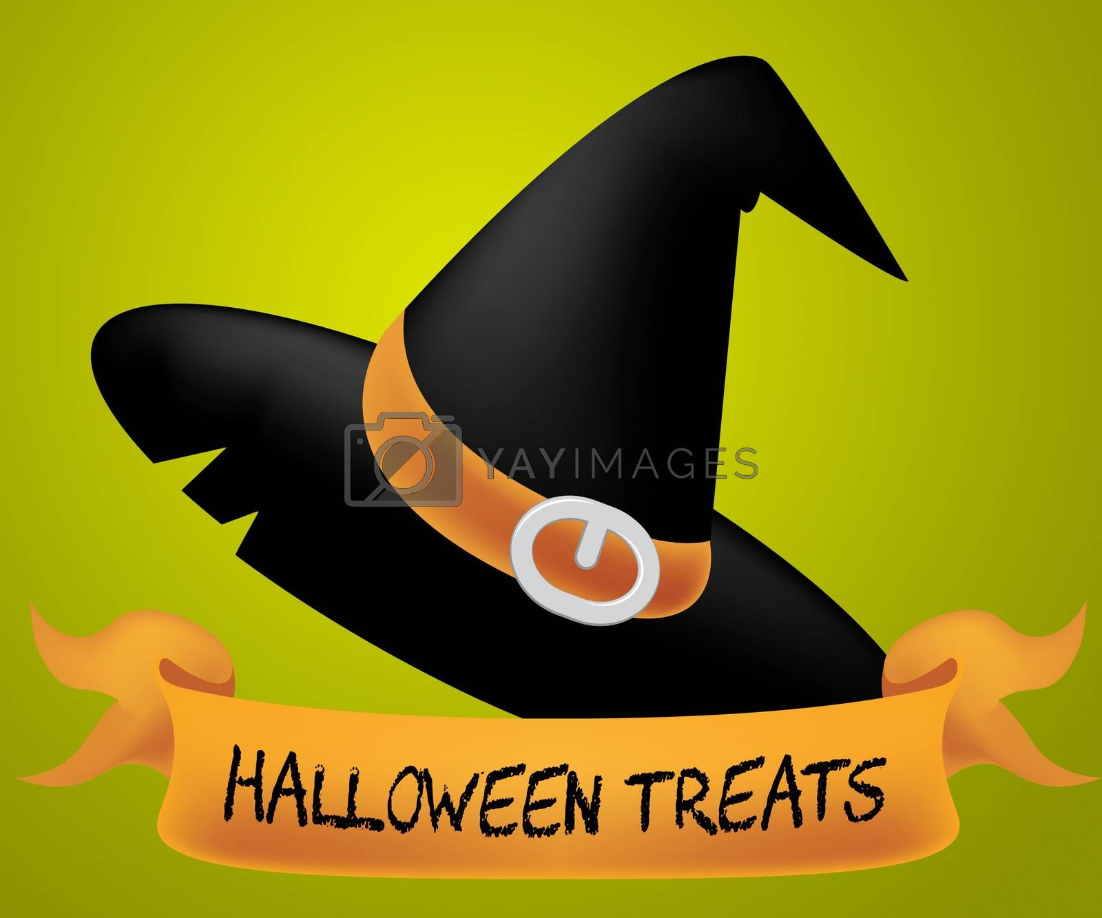 Halloween Treats Meaning Luxuries Celebration And Candy