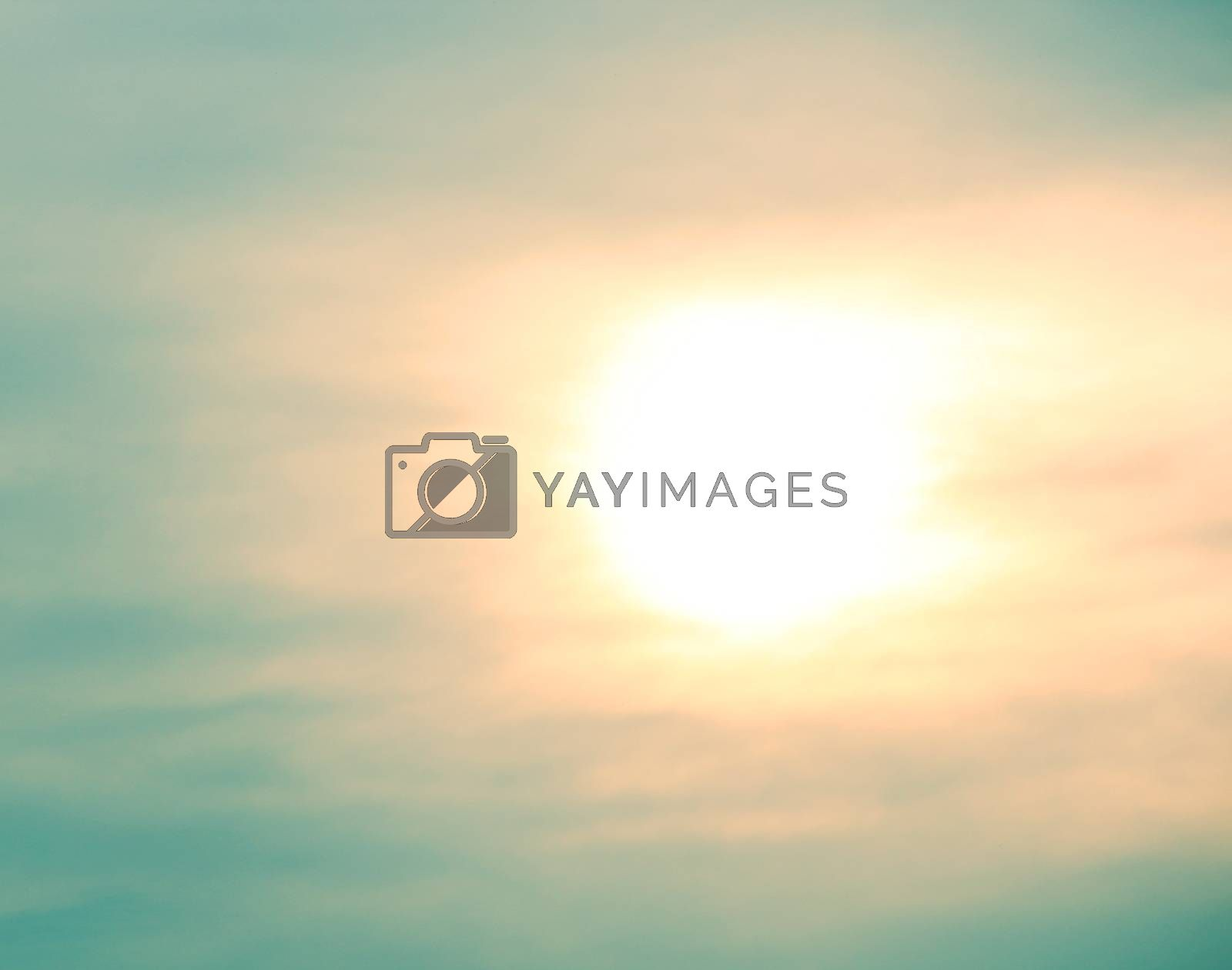 Sunny sky background by liewluck