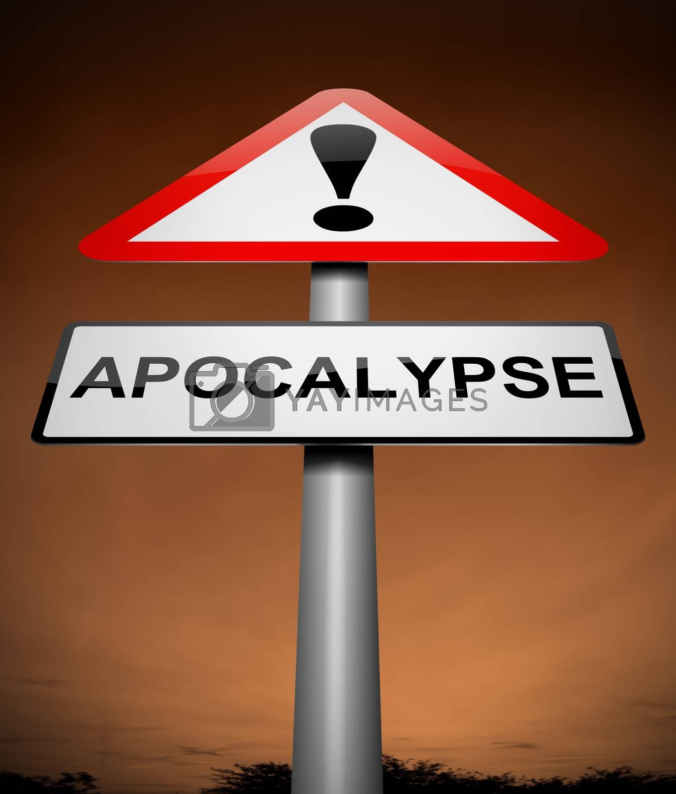 Apocalypse sign concept. by 72soul