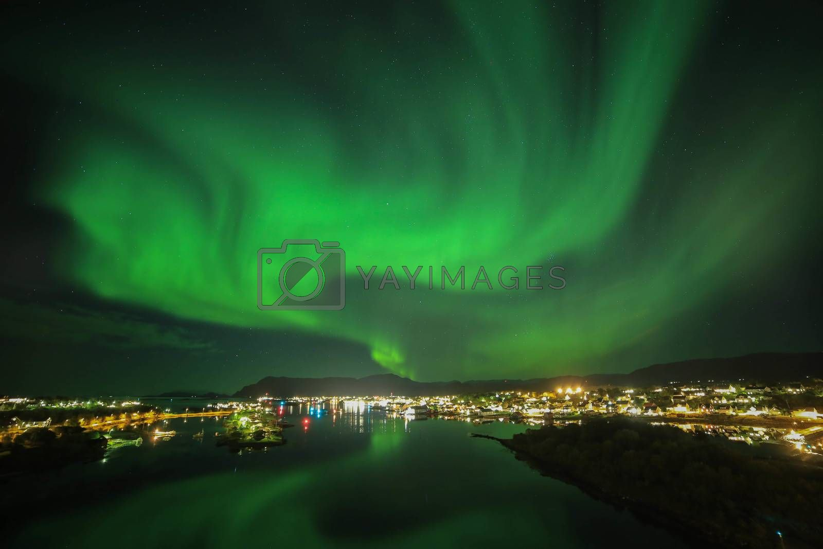 Royalty free image of Aurora by post@bronn.no