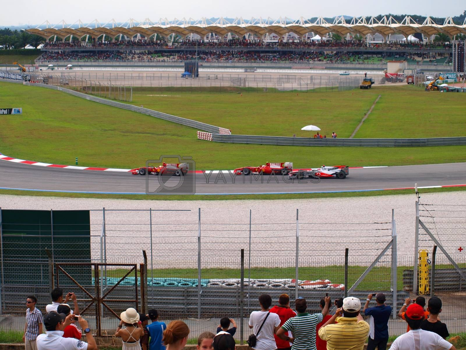 Malaysian Grand Prix at Sepang F1 by friday