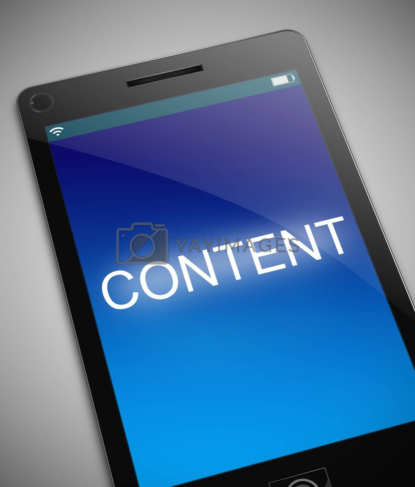 Content technology concept. by 72soul