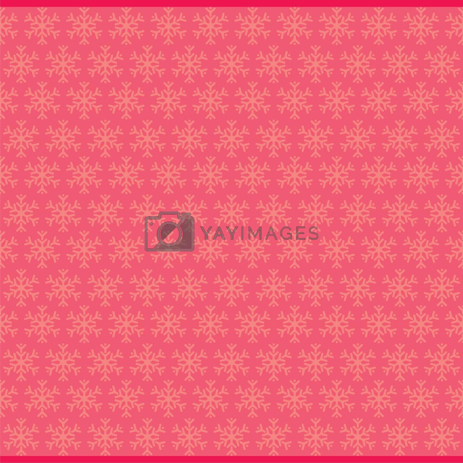 creative christmas snowflake star pattern design