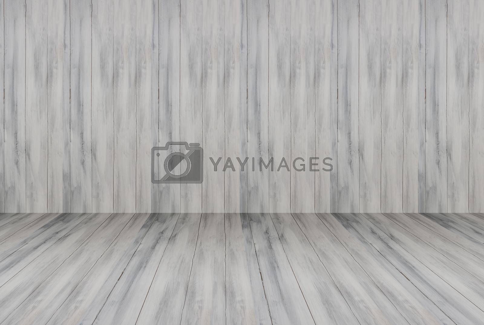 White wooden wall interior background, stock photo