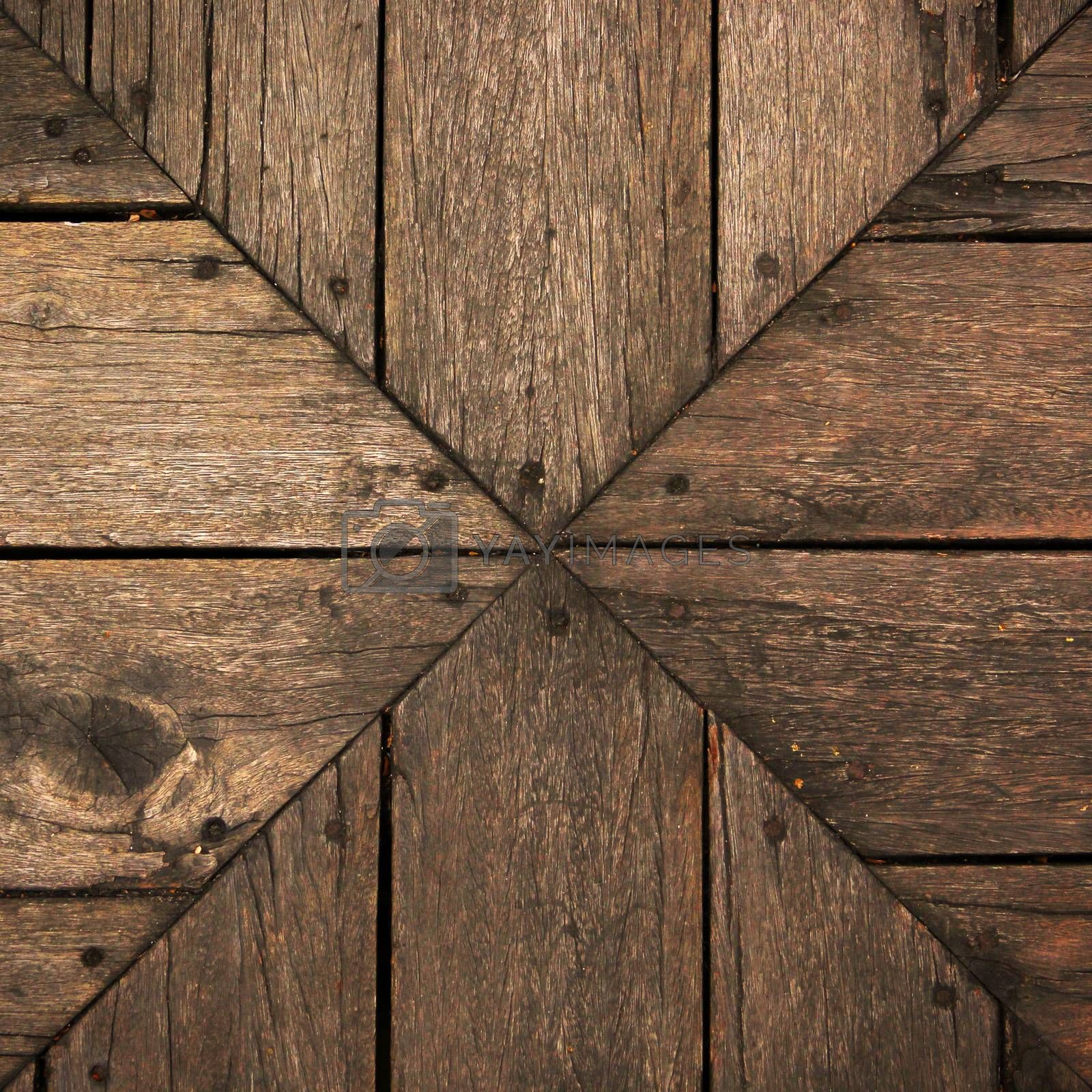 Background wood brown by liewluck