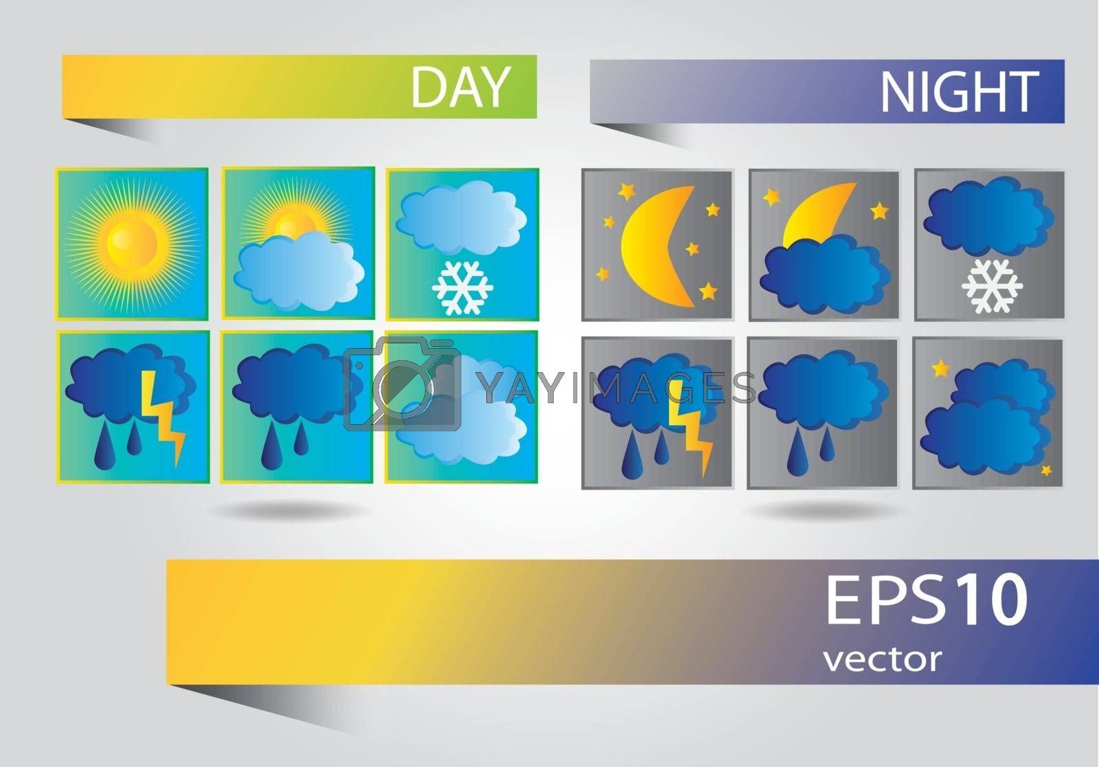 Weather icons  - vector set for your design
