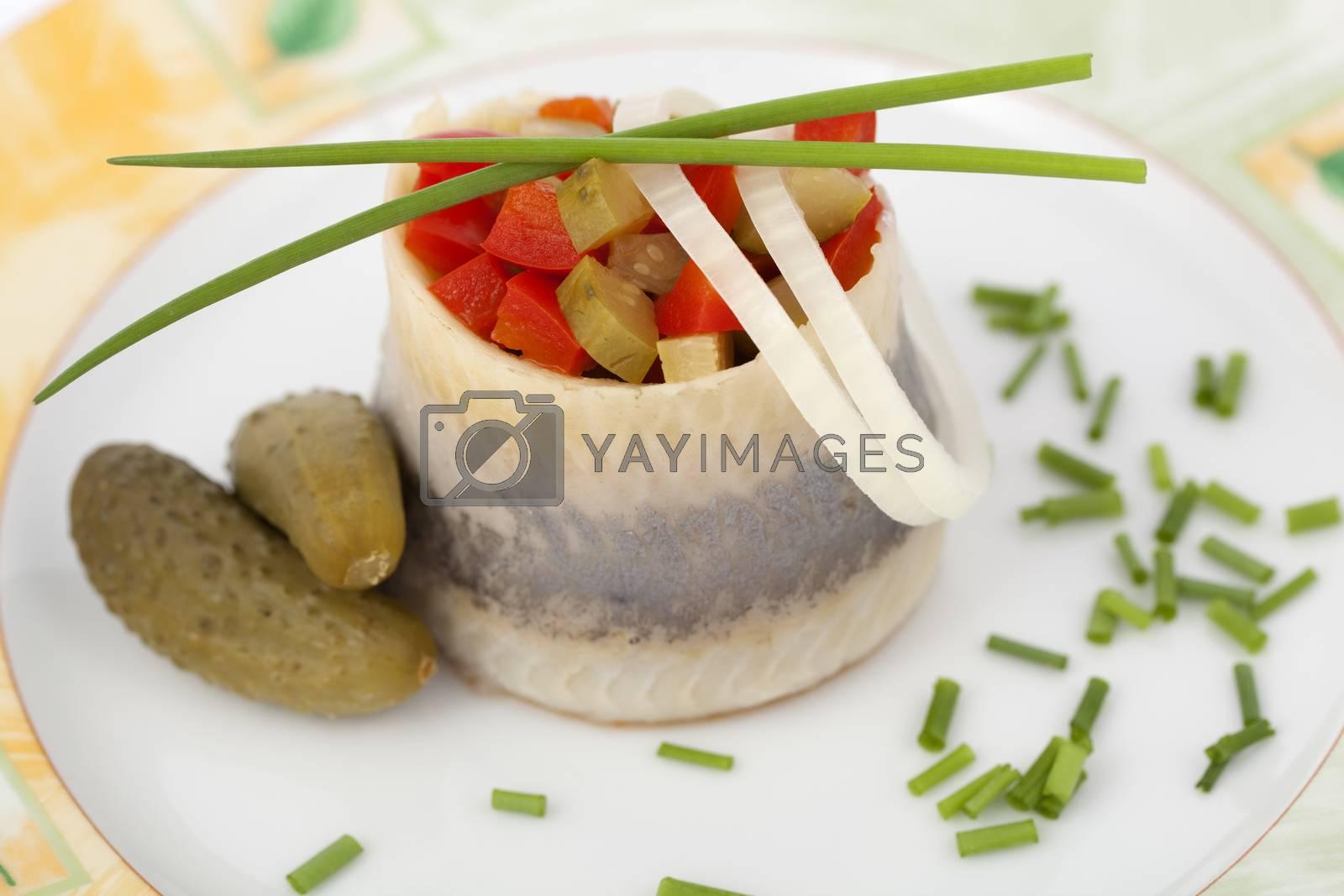 salted herring by dabjola