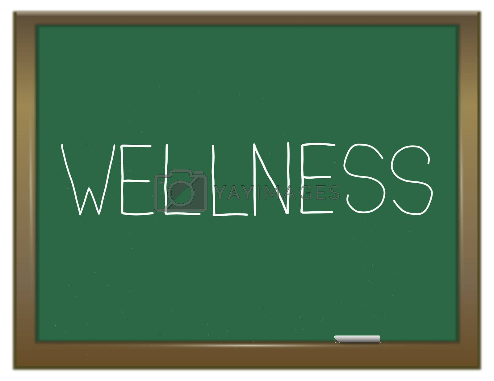 Wellness word concept. by 72soul