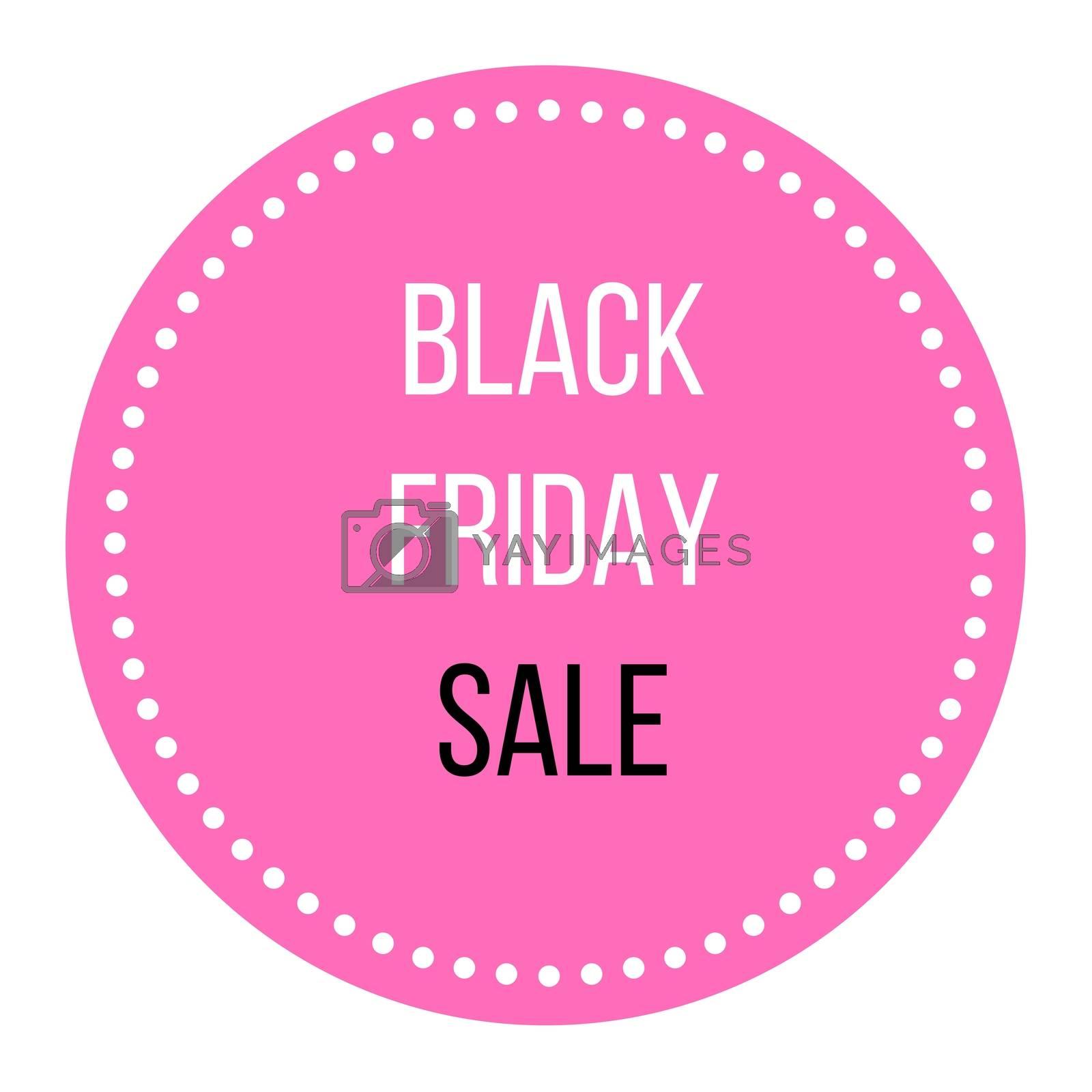 Black Friday sale : Enjoy luxury shopping digital sign by Lordalea