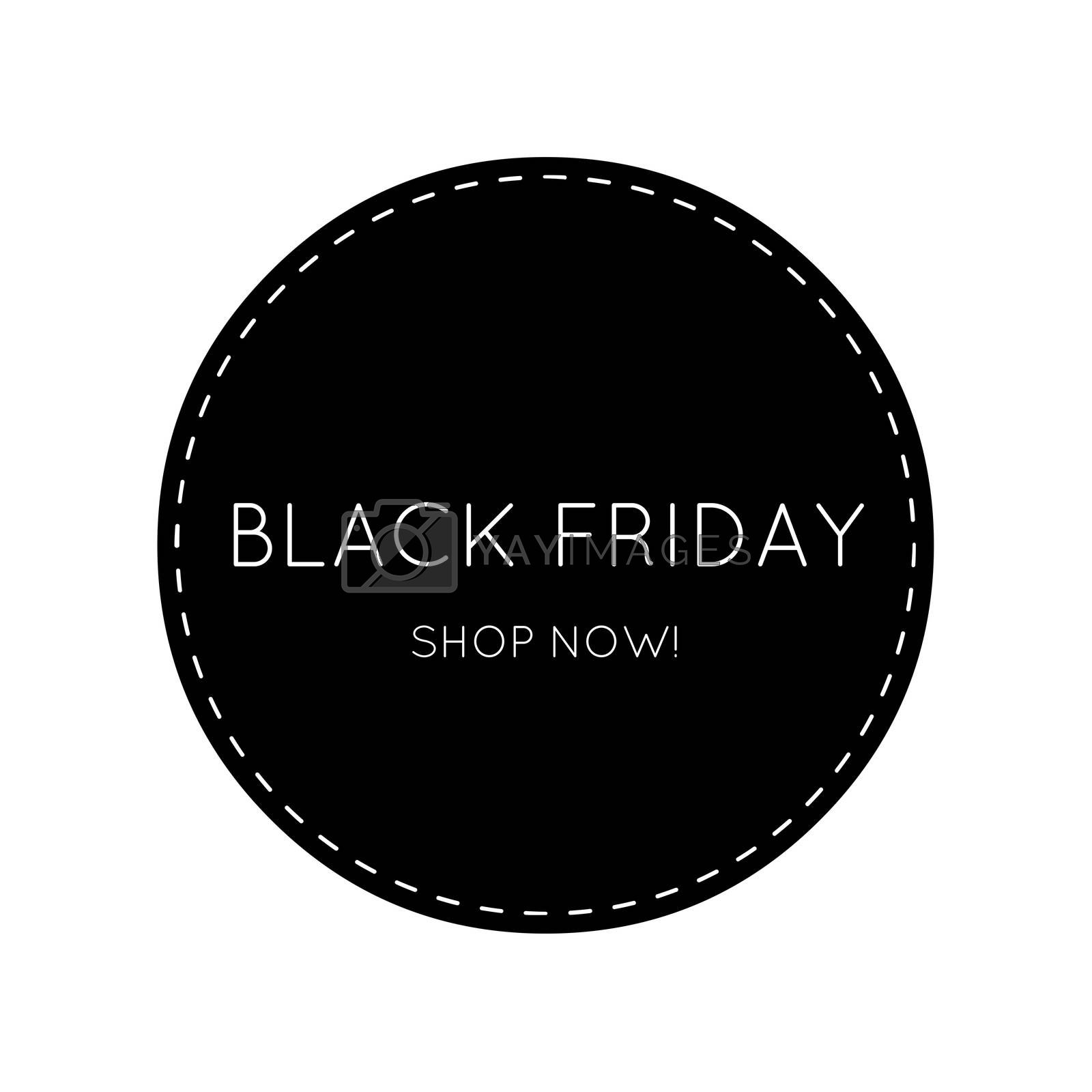 BLACK FRIDAY Exclusive button for Shop / Call to action Sign BLACK by Lordalea