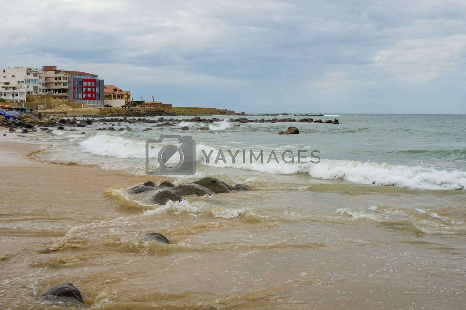Royalty free image of Dakar Beach by derejeb
