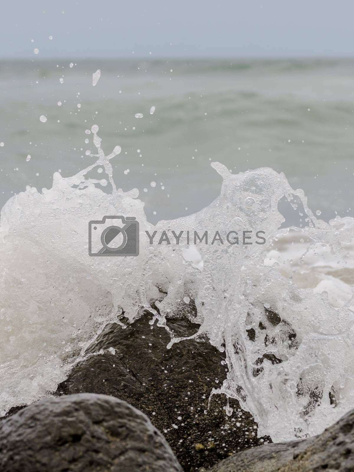 Royalty free image of Atlantic Ocean Waves by derejeb