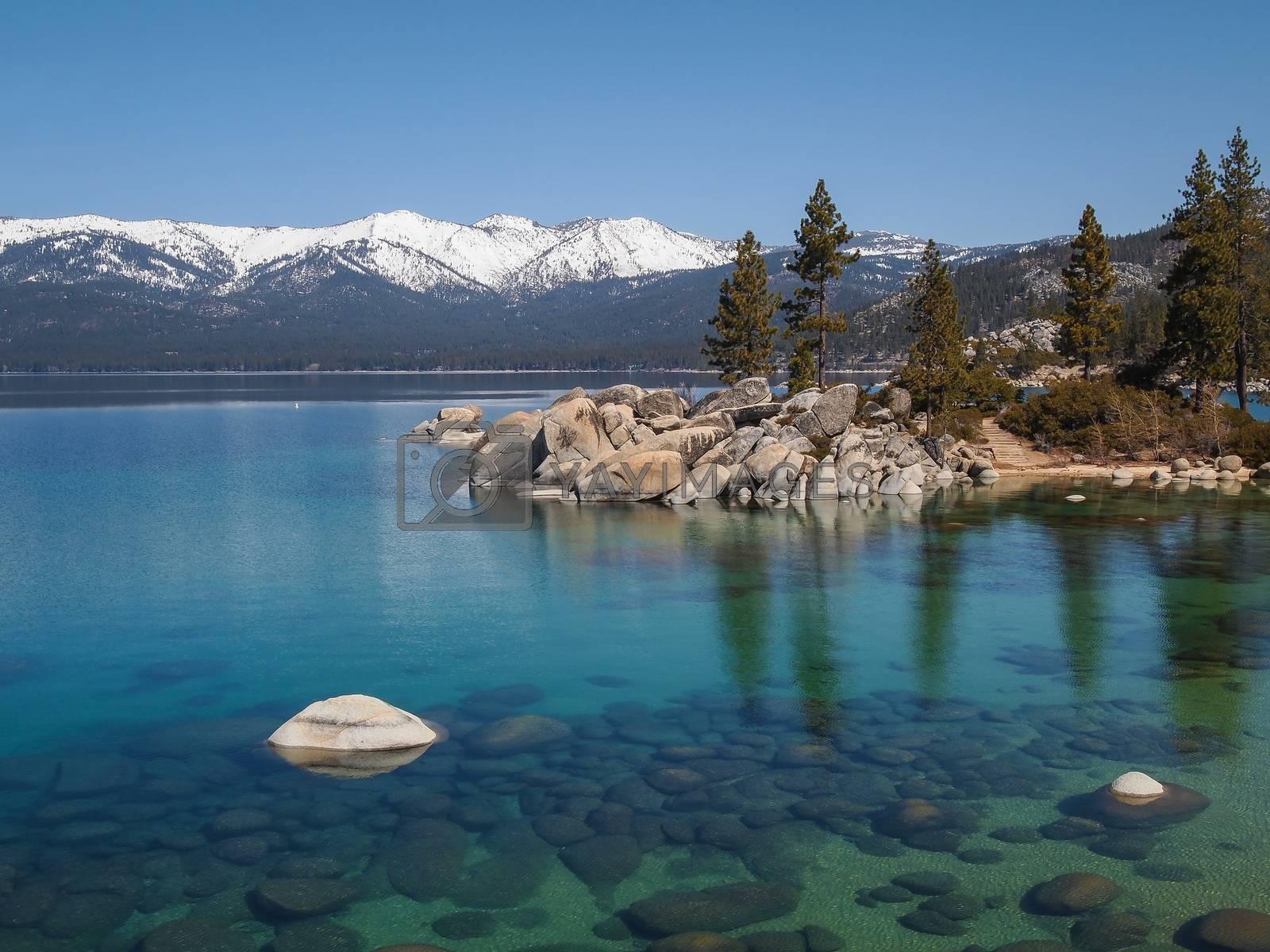 Landscape of Lake Tahoe by simpleBE