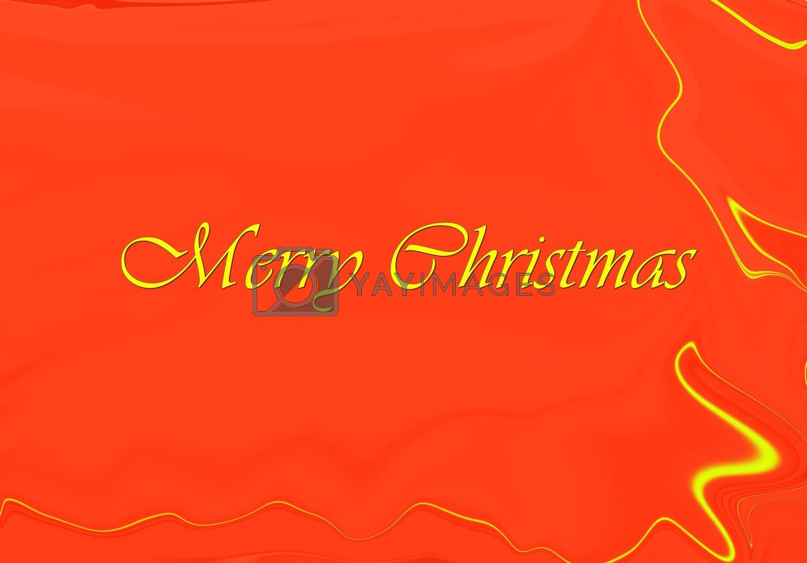 picture of a simple christams card. holiday theme