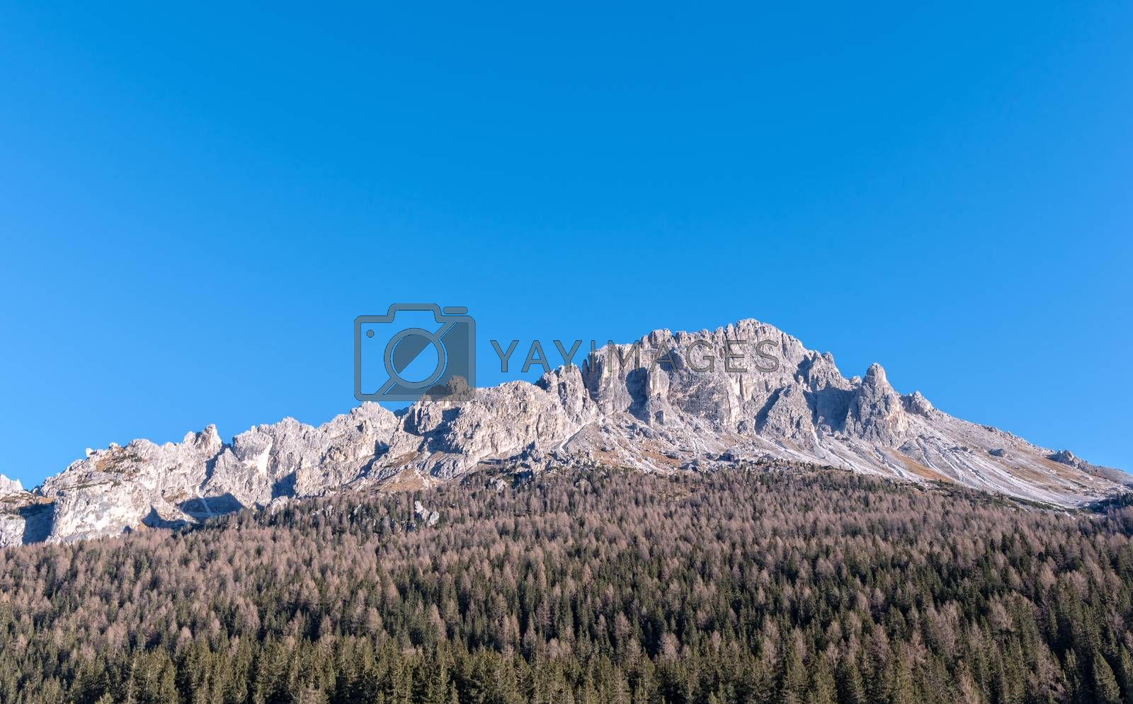 mountain landscape located in South Tyrol in Italy
