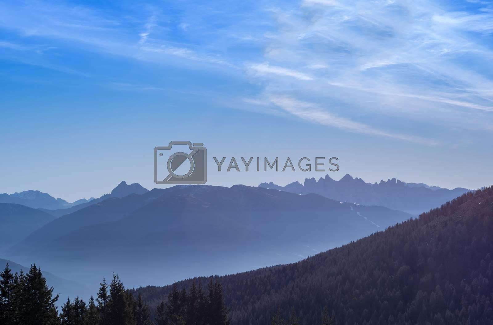 mountain landscape by gufoto