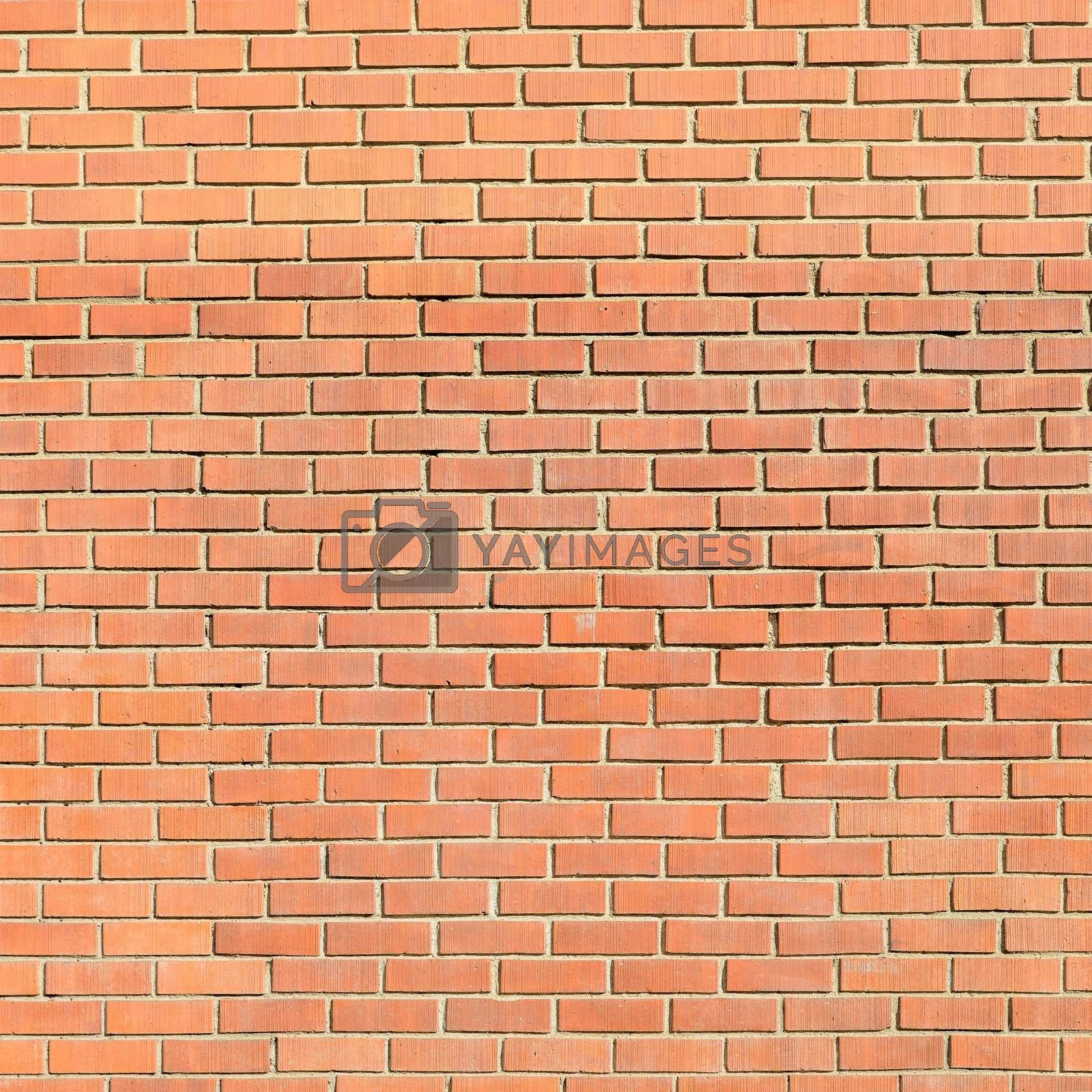 Brick wall for backgrounds