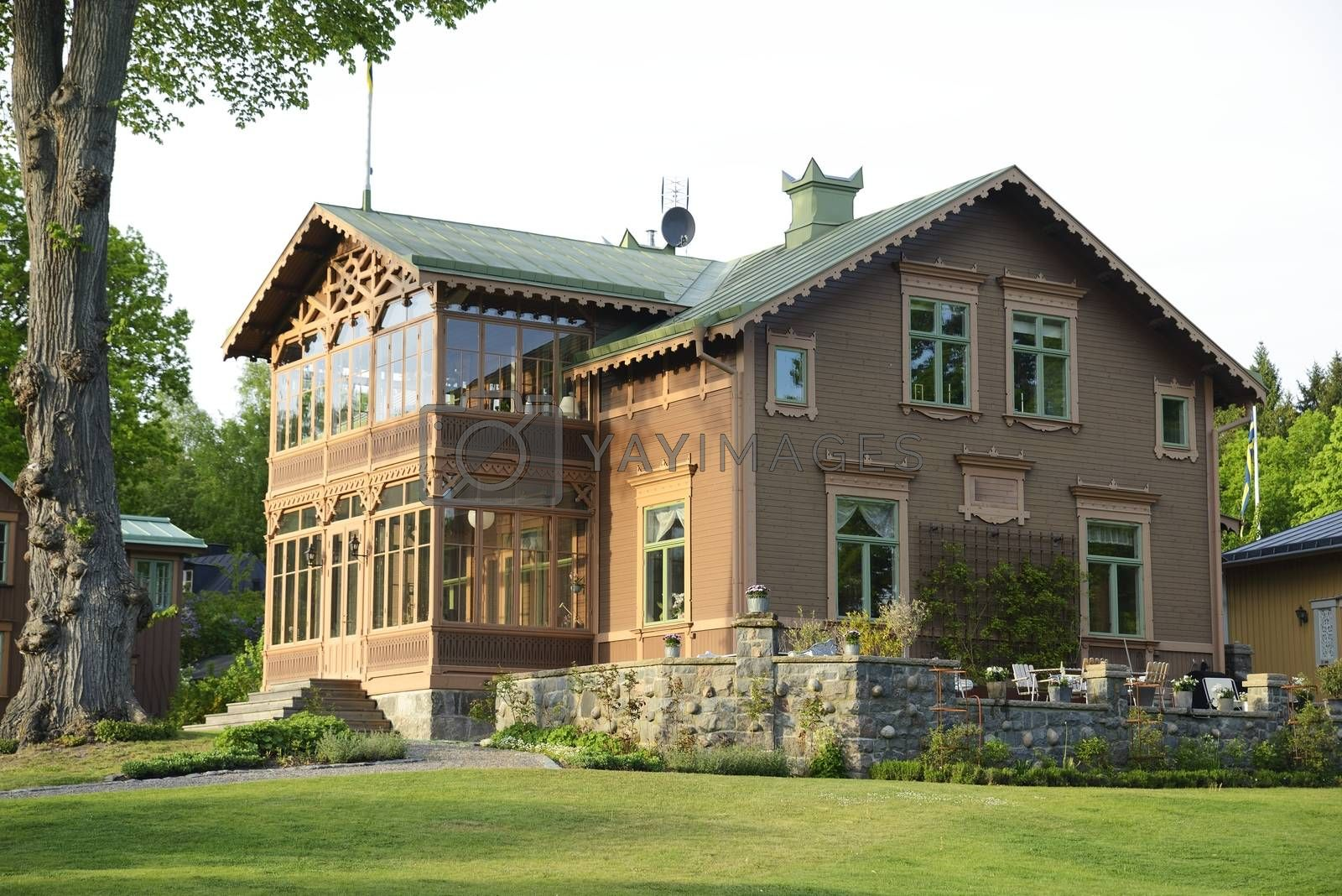 Old Swedish house