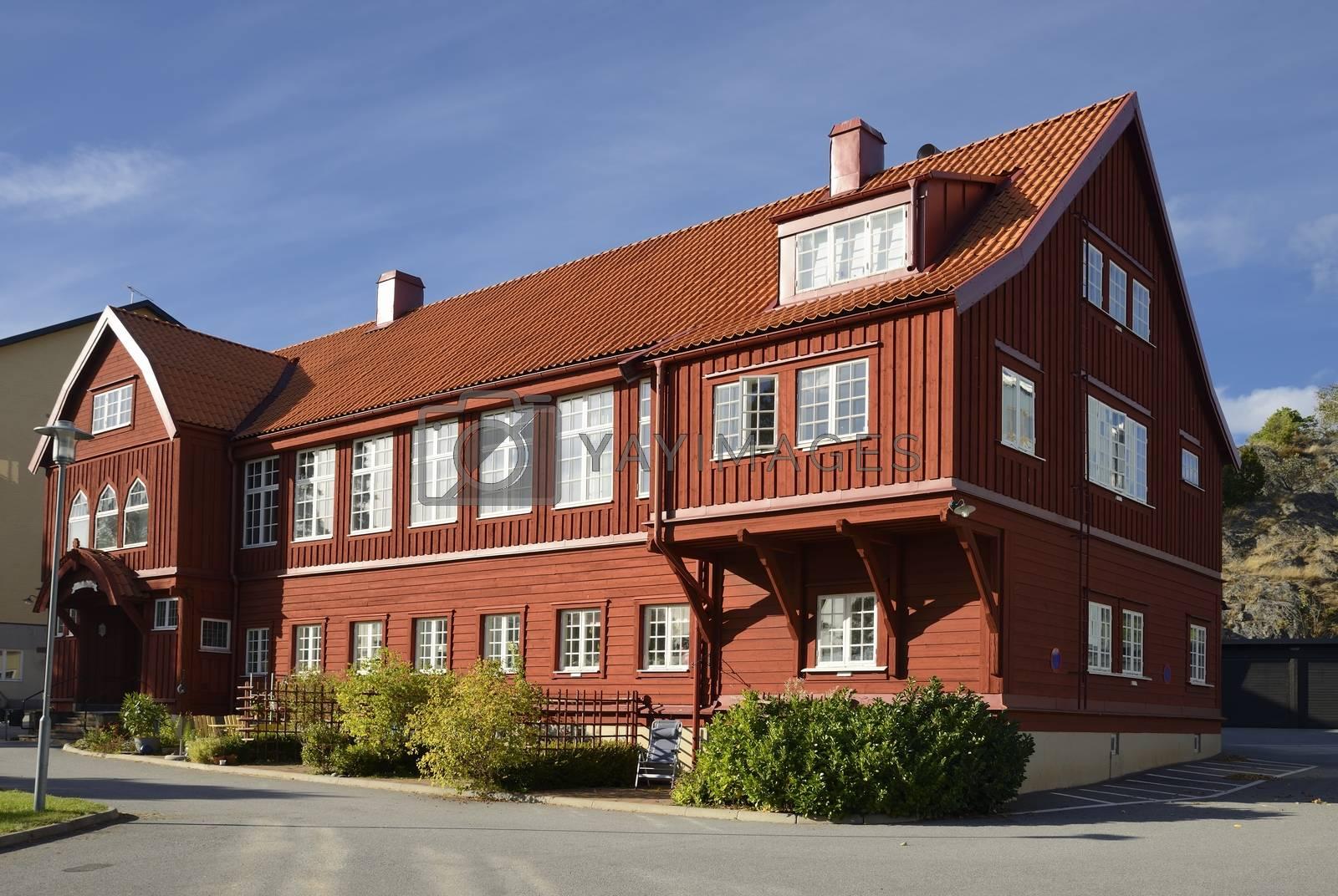 Old Swedish house in Nynäshamn - Sweden.